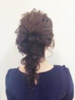 ヘアーサロン セル(Hair Salon CELL)【ルーズカールウェーブ編み下ろし】