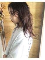 シキオ ヘアデザイン(SHIKIO HAIR DESIGN FUK)ほんのりピンク