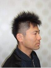 ヘアーズループ(hair's LooP)ビジネスショート