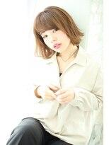 ジョエミバイアンアミ(joemi by Un ami)【joemi】小顔カット自在アレンジ外はね風ボブ(大島幸司)