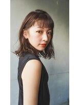 【Un ami】 耳かけウェーブパーマ  キイチ