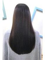 アッシュ 伊勢崎(ash)20代30代40代/艶感ストレート/髪質改善/透明感/乾かすだけ