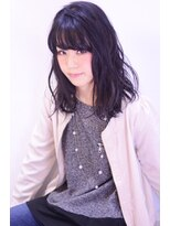 レセ 新松戸駅前店(Laissez)黒髪×抜け感ルーズウェーブ【レセ新松戸駅前店】
