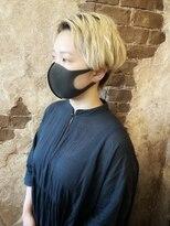マギーヘア(magiy hair)magiyhair【nico】ハンサムショート センターパート