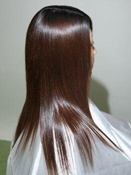 ヘアーアンドセルフサロン アキ(hair&self salon Aki)の写真/大好評◆『新規:カット+カラー+トリートメント¥8000』お手頃価格で質の良いメニューをご体験頂けます…♪