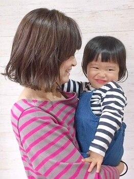 リア(li'a)の写真/【キッズスペースあり☆】忙しいママを応援!お子様連れでも気兼ねなく通えるサロン≪li'a≫が国立にOPEN!
