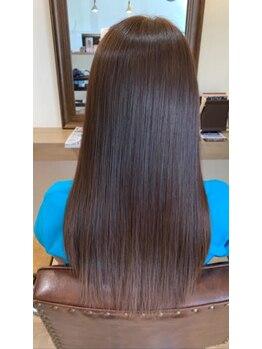 ハピエル ヘアークルー(HAPPYEL hair crew)の写真/大注目!ミネコラトリートメント☆髪の芯から潤い、ずっと触れていたいなめらかな質感のツヤ髪へ導きます。