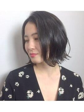 グランヘアー 豊岡店(GRAN HAIR)【GRANHAIR豊岡店】 ボブ × センターパート