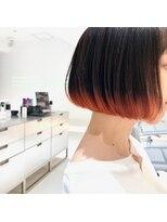 レイズ 立川(RAYS)【RAYS/金本】ミニボブ×裾カラー・アプリコットオレンジ