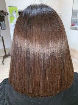 ヘアーワールド ゼロ(Hair world Ze:Ro)の写真/『髪が傷んでまとまらない・・・』というお悩みをお持ちの方はHair World ZeRoに是非ご相談ください!!