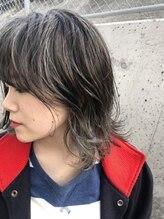アース 川中島店(HAIR&MAKE EARTH)ミディアムウルフ