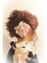 ヘアセットサロン パスクア(Hair Set Salon Pasqua)大人浴衣スタイル