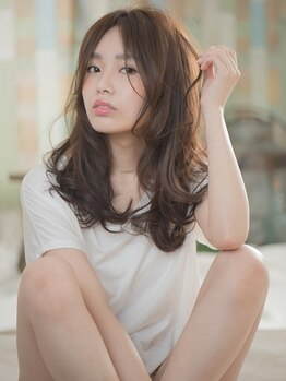 コンティニュー ヘア デザイン(CONTINUE hair design)の写真/【大人気!デジパx縮毛】髪に優しい低温デジタルパーマでふんわり・かわいい・キレイが思いどおりに!!