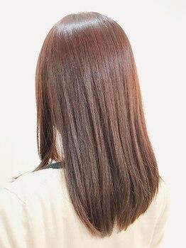 ヘアーサロン ソル(HAIR SALON SOL)の写真/SNSや業界で話題!髪質改善が叶う【サイエンスアクア】導入☆美髪チャージでまとまるうるツヤ髪に♪