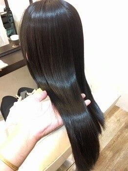 アンジュ(ange)の写真/髪質改善*クセと広がりに悩んでる方にオススメ◎髪にコシを与えながらうる艶髪を実現します♪【葛西】
