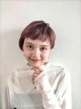 セシルヘアー 沖縄小録2号店(Cecil hair)ハイトーン×ピンクベージュ