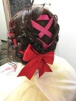 ヘアーグランデシーク(Hair Grande Seeek)成人式・卒業式にも◎リボン編み込みSET♪