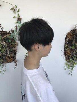 シーン(hair design SCENE)≪谷添担当≫刈り上げマッシュスタイル♪