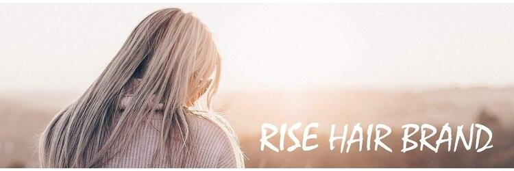 ライズ ヘア ブランド 豊中店(RISE HAIR BRAND)のサロンヘッダー