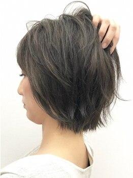 ヘアーガーデンニコモカ(Hair Garden NICOMOCA)の写真/お悩みの白髪も、上質なカラーで自然な艶髪が叶う♪豊富なカラーご用意でオシャレを楽しみたい大人女性へ♪