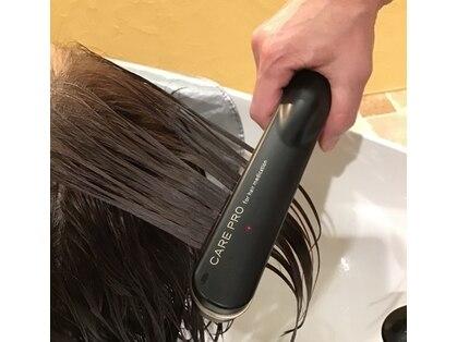 オッジ ヘアー ジャッロ(Oggi Hair giallo)の写真