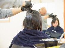 ヘアールームヴァニラ(Hair Room Vanilla)の雰囲気(やわらかい質感もカット・カラーで表現♪)