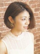あだち美容室 宮の森店【adachi-井上俊敬】フェミニンシュートボブ