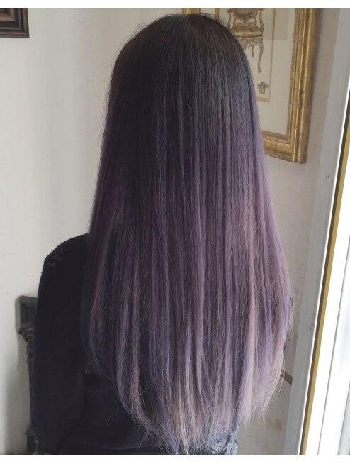 ラベンダーグレー L004303096 ヘアーカラーサロン ノーチェ Hair