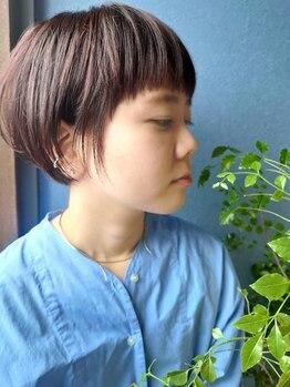 クブヘアー(kubu hair)の写真/なりたいスタイルを『似合うスタイル』へ!誤魔化しがきかないショートヘアだからこその卓越した技術を実感