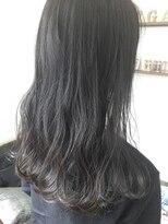 オシャレ黒髪 アッシュブラック