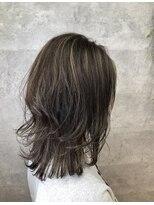 グランジュテ ヘアアンドスパ 新検見川(GRAND JETE Hair&Spa)立体感ソフトウルフ♪ [岩井麻由美]