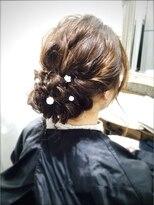 ヘアーラボ アッシュ(Hair Labo ASH)<ASH>ナチュラルヘアセットまとめ髪