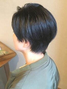メルシー(Merci atelier salon)の写真/柔らかいショートヘアで可愛くなろう!360度どこから見ても美しいフォルム☆骨格×似合わせCutで小顔に♪