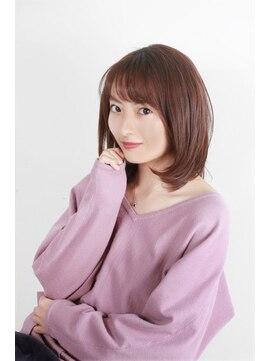 モッズ ヘア 横浜西口店(mod's hair)ミディアムボブレイヤー【LUDIVINE 2010S/S】