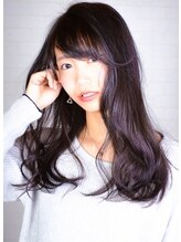 ヘアーメイク トレコローリ(hair make trecolori)【trecolori】大人のグレーアッシュ×色彩学カラー inada