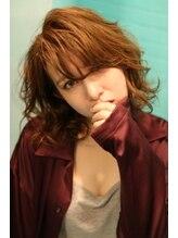 ヘアーラウンジ アンフィ 井土ヶ谷(Hair Lounge Anphi)【Anphi】大人可愛いトップからのふんわりパーマボブ