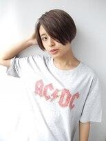【morio 原宿】黒髪ショートボブ センターパート