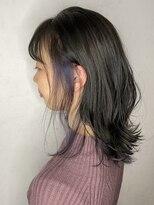 ソース ヘア アトリエ 京橋(Source hair atelier)【SOURCE】インナーブルーヴァイオレット