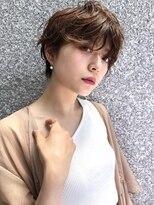 ファースト 仙台店(first)【松根ショートボブ】大人かわいいふんわりショートパーマ
