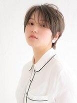 アース 常盤平店(HAIR & MAKE EARTH)ハンサム丸みショートヘア