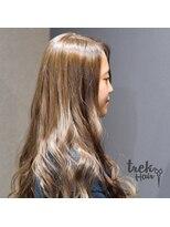 トレックヘアー(trek Hair)オークルカラー