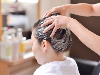 アールヘアーアンドメイク(R Hair&Make)の写真/《西荻窪》Relaxation&保湿効果の高いクリームバスが人気☆血行促進による小顔効果UP!!至極の癒し体験を♪