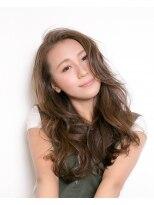 ムード 金沢文庫 hairdesign&clinic mu;d外国人風ロングウェーブ