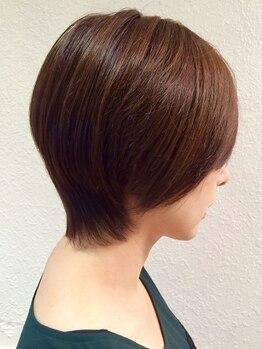 ヘアー サロン ラフ(hair salon raf)の写真/飾磨◆周囲に褒められるヘアに…気になるトップのボリュームUPが叶う♪モチを意識したカットがGood!