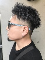 ゼロニイロク(026)《026 Style松坂良太》フェード×ツイストパーマ