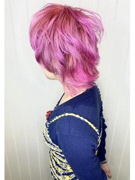 ソース ヘアアトリエ 梅田(Source hair atelier)【SOURCE】キャンディピンク