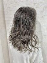 アルマヘア(Alma hair)イルミナカラー★シルバーグレージュ