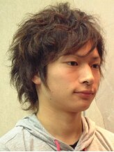 エーティーエフ ヘアコンセプト(A T F hair concept)ポイントで質感を変化。ふんわり、柔らかな立体感