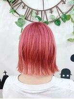 ヘアーサロン エール 原宿(hair salon ailes)(ailes 原宿)style435 フラミンゴピンク☆ボブディ