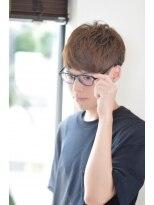 マッチアップ(MATCH UP)眼鏡に合うマッシュショート